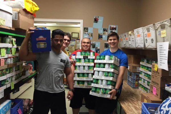 Volunteers - Food Pantry (2)